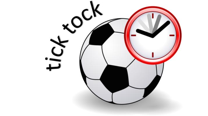 Image result for soccer ball clock